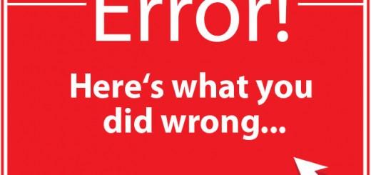 Google API Error