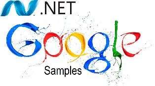 Google .net Samples