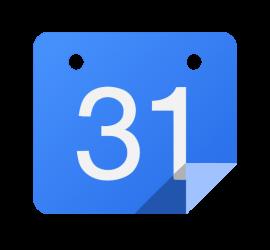 Google calendar large